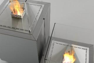 Живое пламя биокамина