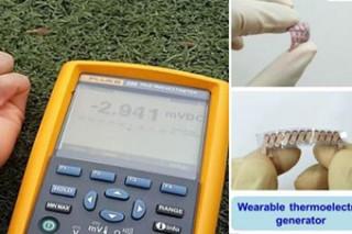 Зарядное устройство для мобильных девайсов от тепла тела