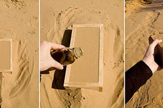 Строительный материал из бактерий, песка и мочи