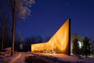 Энергосберегающий Дом в лесу от студии William Reue Architecture