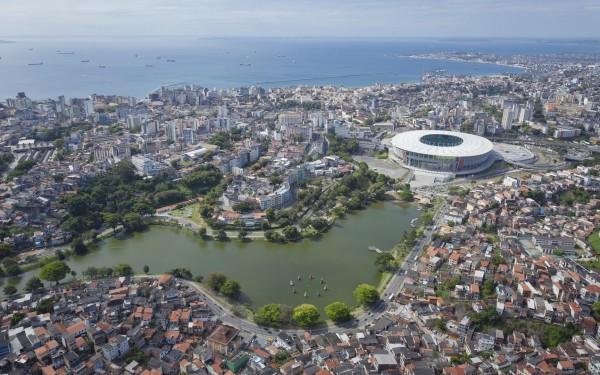 LEED-сертифицированная футбольная арена в Бразилии