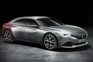 Peugeot представит в Пекине гибридный концепт