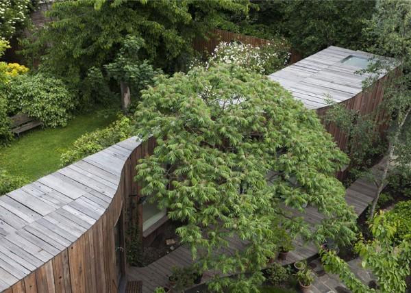 Дом у дерева