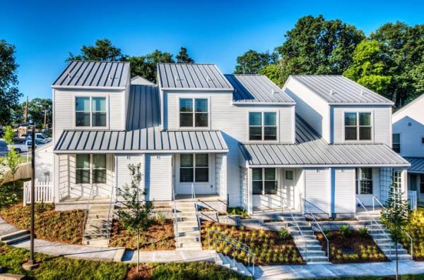 Энергоэффективные таунхаусы в качестве субсидированного жилья