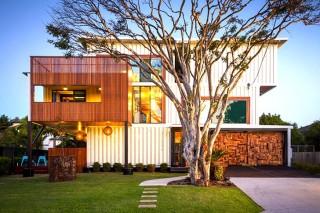 Карготектура Австралии: дом из 31-го контейнера