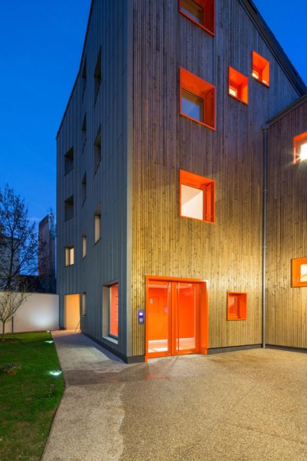 Социальное жилье в Латинском квартале Парижа