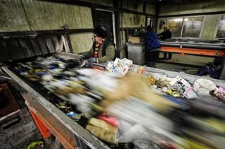 Бетон из… бытовых отходов