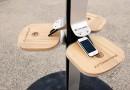 Нью-Йорк заполонили зарядные станции для мобильных устройств