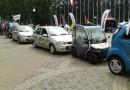 Электрическая Lada отправилась в автопробег