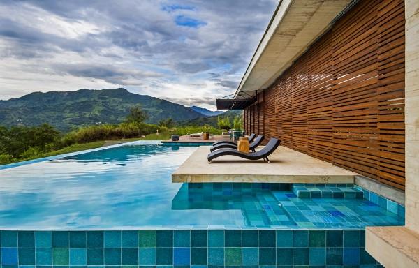Элегантная вилла в горах Колумбии