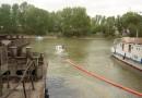 Полтонны мазута попало в акваторию реки Обь