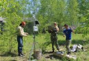 В заповеднике «Комсомольский» установили метеостанцию на солнечной батарее