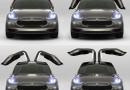 На электрическом кроссовере Tesla Model X оставят оригинальные задние двери