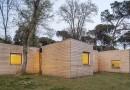 Экодом из 6 деревянных «кубиков»