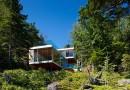 Энергонезависимый коттедж на острове в Британской Колумбии
