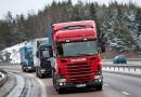 В Америке проходят испытания грузовиков-роботов, умеющих передвигаться колонной в автоматическом режиме