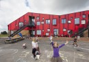 Начальная школа в Дании: игривый дизайн и «зеленые» технологии