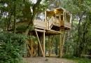 Деревянный дом-трихаус для немецких скаутов