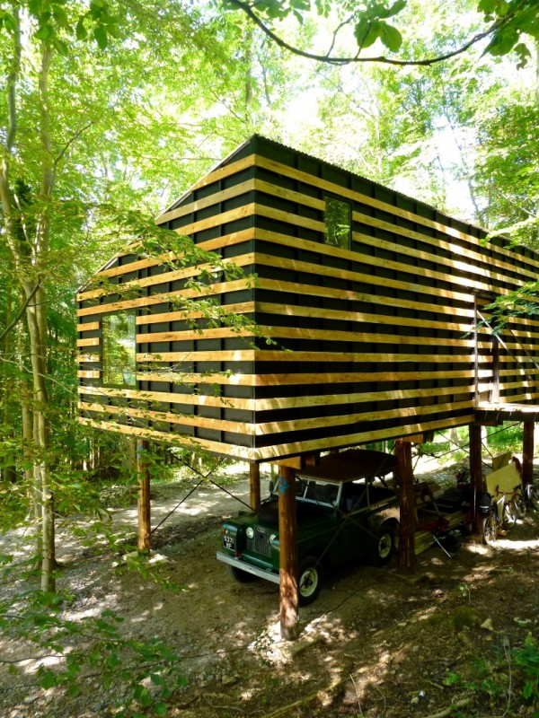 Экспериментальный дом 55 кв. м. за 15 000 фунтов
