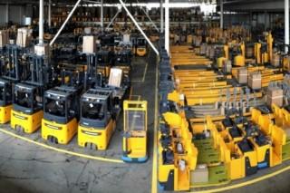 Производитель электрических погрузчиков Jungheinrich AG открыл новый склад в Подмосковье