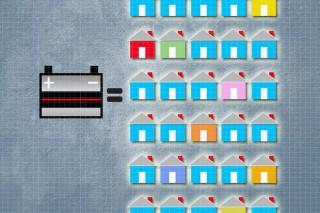 Старые автомобильные аккумуляторы можно использовать для создания солнечных панелей
