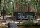 Деревянный коттедж в богемском лесу