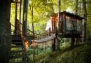 Дом с подвесными мостами