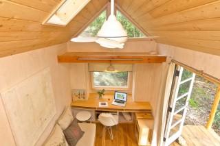 Гостиная, кухня, кабинет и спальня на 13 кв. м.