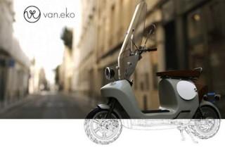 Компания Van.eko представила электроскутер из биопластика
