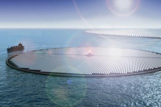 Солнечный остров – электрическая станция на воде