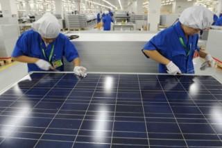 Китай наращивает объемы производства комплектующих для солнечных электростанций