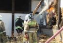 Экодом в Курске сгорел из-за несоблюдения правил пожарной безопасности