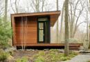 Дом-студия для отдыха в лесу
