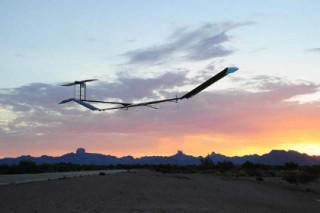 Беспилотный самолет Zephyr-7 продержался в воздухе 11 дней на солнечной энергии