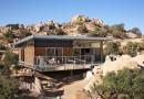 «Солнечный» дом в пустыне Мохаве