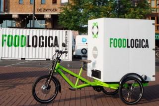В Амстердаме появилась служба доставки, работающая на электровелосипедах