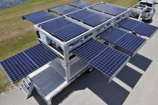 Ecosphere Technologies представила мобильную солнечную электростанцию Ecos PowerCube