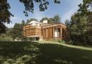 Загородная вилла с роскошным узорным фасадом