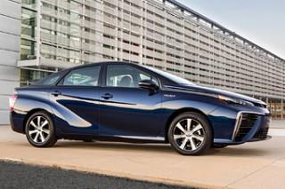 Выхлоп Toyota Mirai по чистоте не уступает артезианской воде