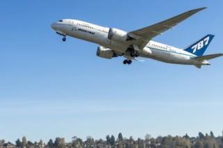 Boeing начал тестирование «зеленого» самолета 787 Dreamliner ZA004 EcoDemonstrator