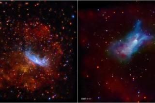 В обсерватории Чандра сфотографировали гибель сверхмассивной звезды