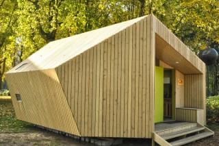 Экологичный дом-тент для кемпингов