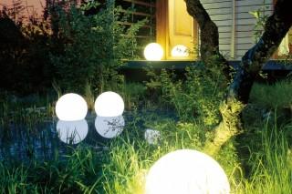 Светодиодное освещение для города и дачи, работающее от солнечного света
