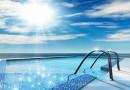 Подогрев воды в открытом бассейне с помощью солнечных коллекторов