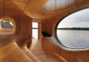 Кедровая сауна на озере Гурон