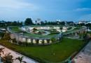 Вьетнамский экодетсад с «живой» крышей