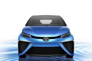 Водородная Toyota Mirai появилась в свободной продаже