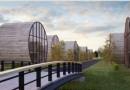 В Литве построят деревянные коттеджи-валки