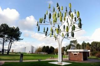 На смену классическим ветрякам придут «Ветряные деревья»?