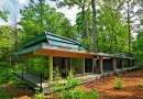 Дом, открытый лесу
